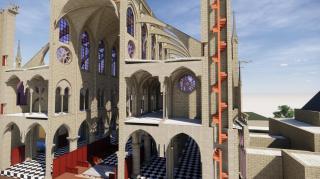 Model of Notre Dame