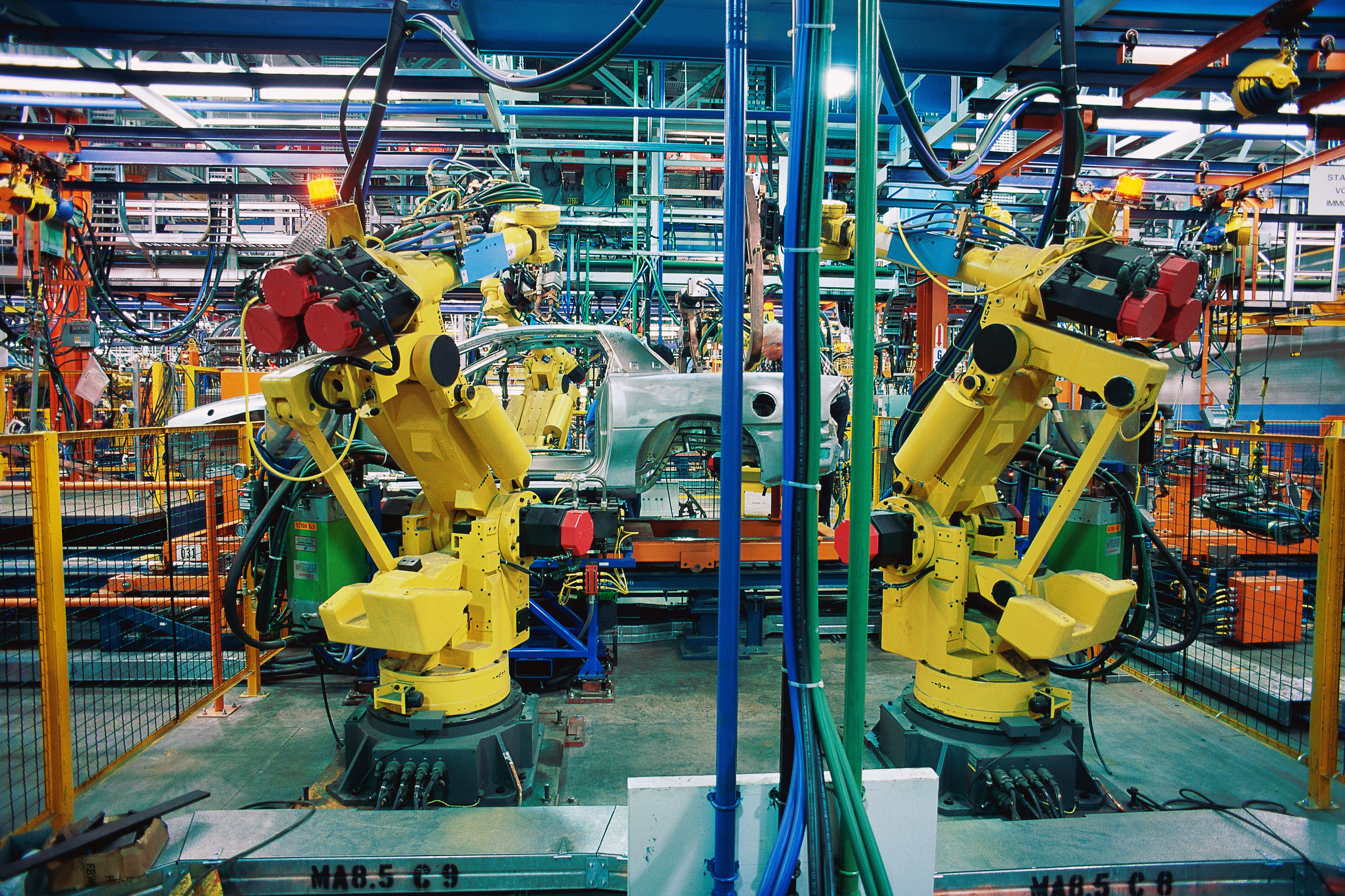 Automotive plant