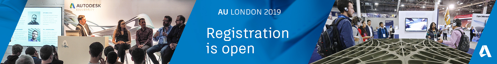 AU London Registration is Open