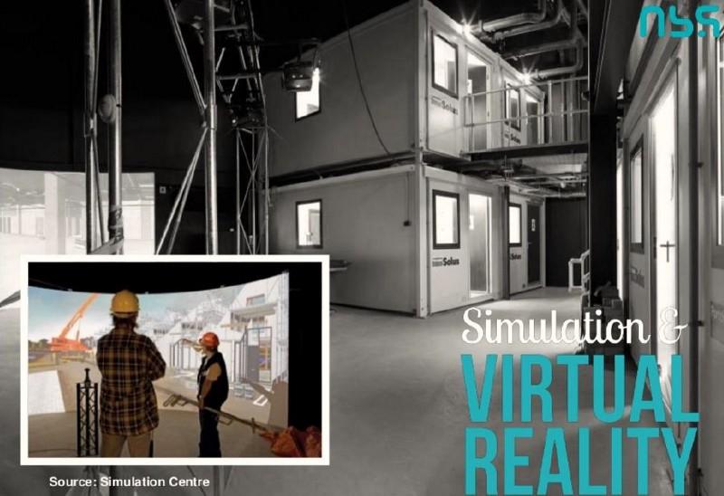 Simulating potential scenarios. (Simulation Centre, Coventry, UK)