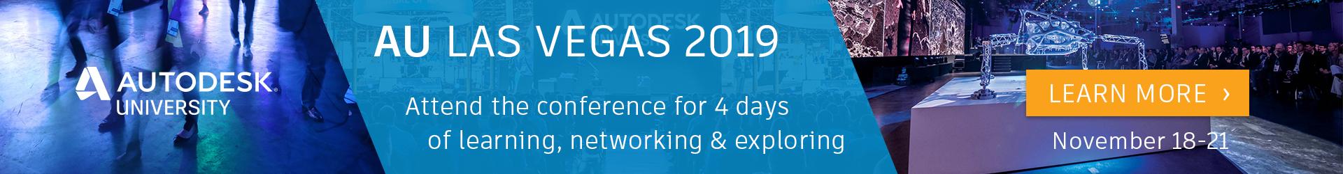 Registration for AU Las Vegas 2019 is open