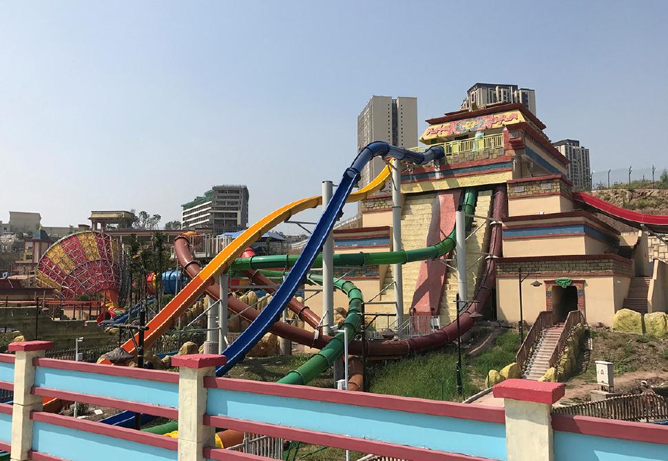 Mayan theme park