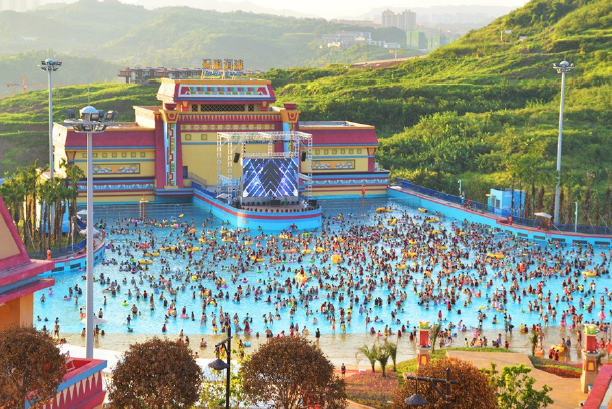 The third largest wave pool in the world