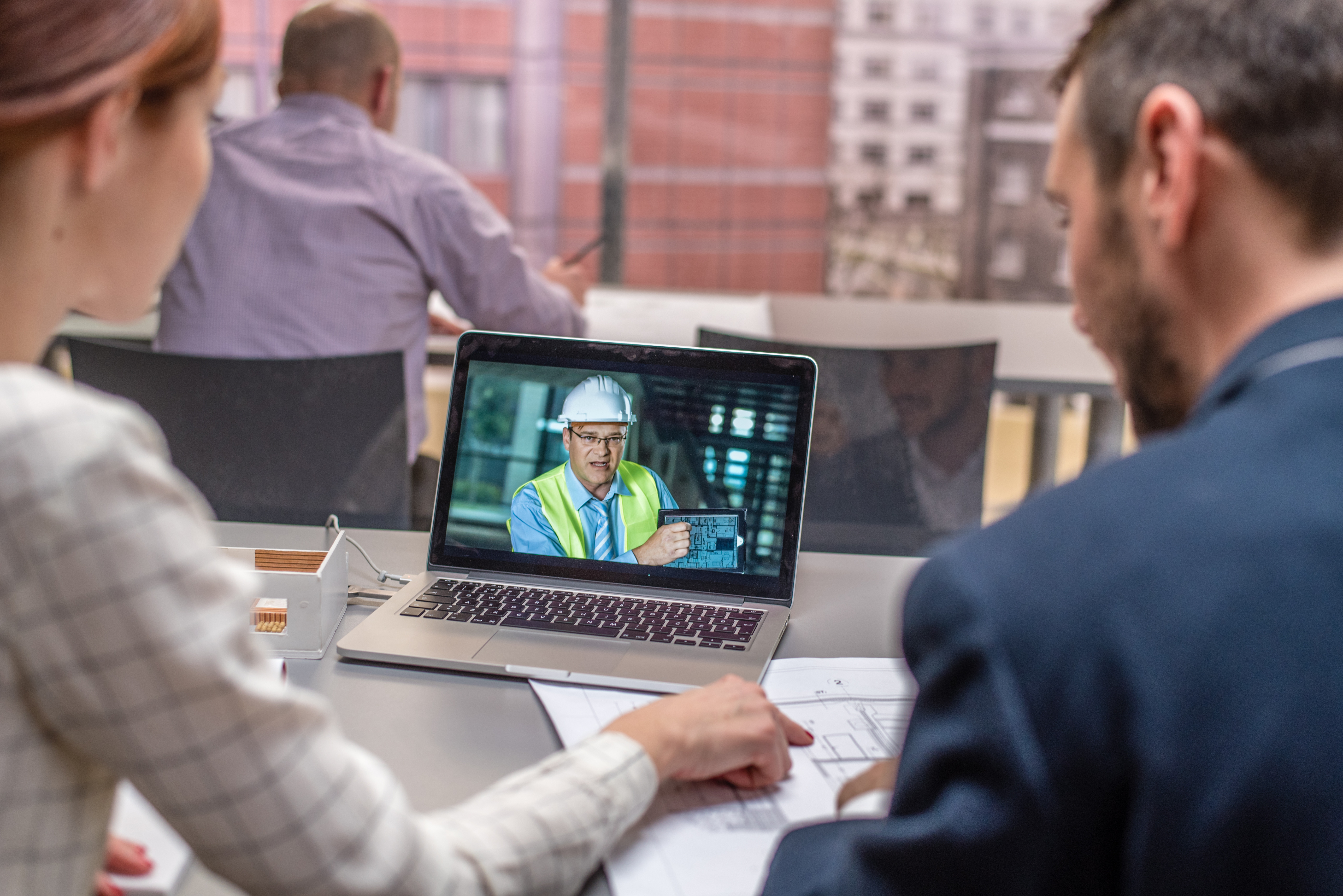 Office-site video conference