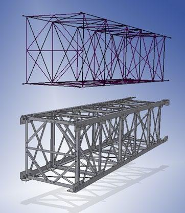 model frame