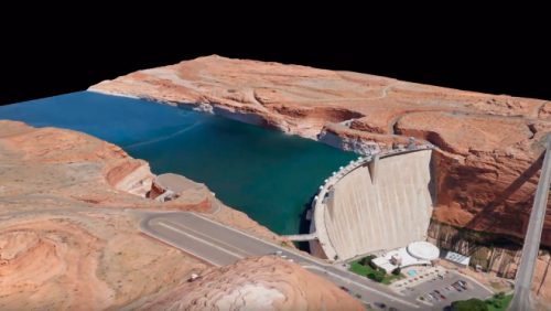 Virtualizing the Glen Canyon Dam