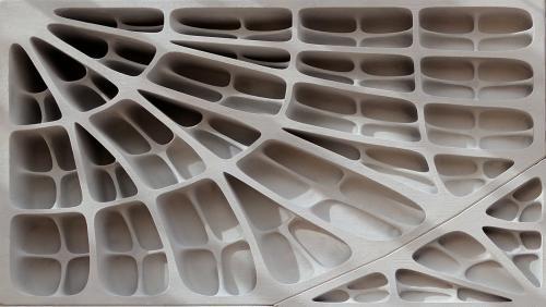 3d Printed Funicular Floor