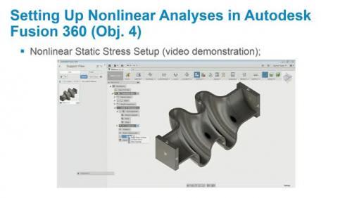 Nonlinear Simulation in Autodesk Fusion 360 | Autodesk University