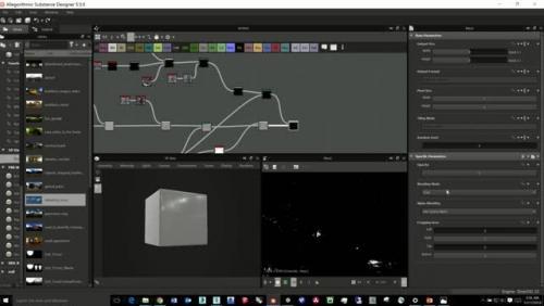 Procedural PBR Material Creation Using Substance Designer for