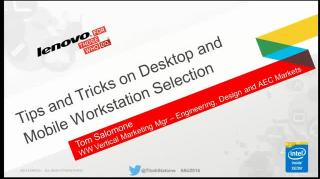 Tips and Tricks on Mobile and Desktop Workstation Selection